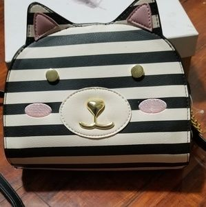 Luv Betsey Johnson cat purse. New